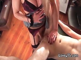 Stud Gets Fooled Into Fuck-a-thon With A Shemale