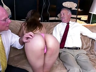 Sexy Bimbo Ivy Rose Gets Drilled Hard By A Horny Old Fart
