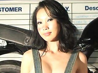 Lin Motorcycle Disrobe