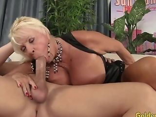 Golden Whore - Older Lady Blowage Comp Twenty-one