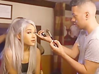 Ariana Grande Filming ''concentrate On Me'' Movie