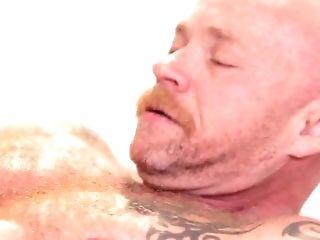 After Sucking Tasty Knob Lusty She-creature Tori Mayes Fucks Dude's Asshole