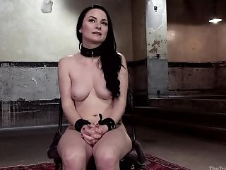 Bondage & Discipline And A Servant Role Is Amazing Practice With Tied Veruca James