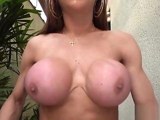 Astonishing Pornography Scene Shemale Big Tits Unbelievable Uncircumcised
