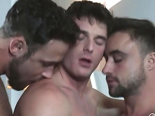 Three Exotic Queer Guys Know Exactly How To Please One Another