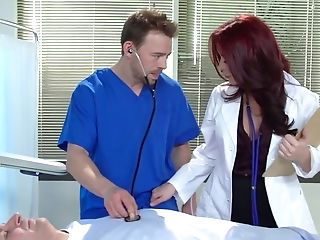 Dirty-minded Physician With Ease Entices Her Harmless Student