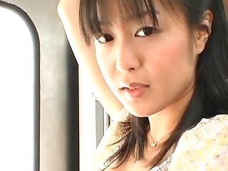 Horny Unexperienced Fuckslut Nana Nanaumi Unwrapped And Fucked By Two Dudes