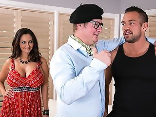 Ava Addams Gets Needs Meet By Dancing Instructor Her Hubby Hired