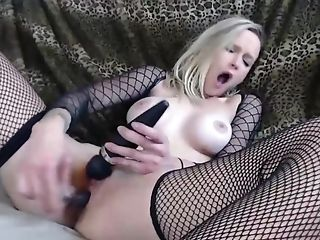 Russian Blondie Fucks Herself W/ Thumbs, Electro-hitachi / Fake Penis Jules And Sweet D