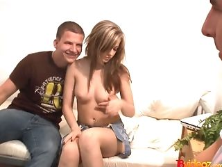 18videoz - Abigaile Johnson - Hump For Cash Turns Bashful Gal Into A Breezy