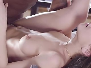 Erotic Interracial Bang-out With A Beautiful Youthful Euro Female