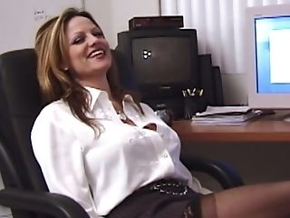 Kelly Madison Is A Nasty Office Employee Longing To Be Fucked Well