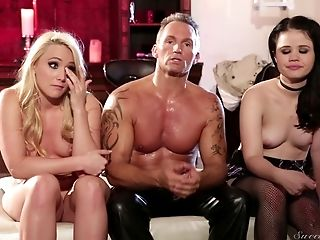 Sexy Sex Industry Stars Love Having Some Joy While Filming Their Scenes