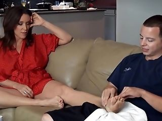 Today Is The Day When My Mom Gets A Good Orgy And Yoga Lesson - Display 148