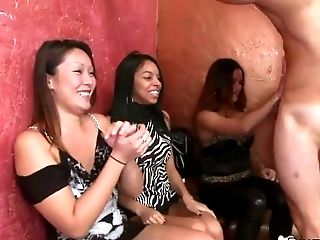 Crazy Women Suck And Fuck Masculine Strippers