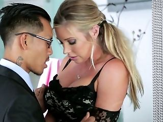 Samantha Saint And Her Asian Friend Go Wild In Ffm Threesome
