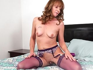 Cyndi Sinclair Loves Wearing Undergarments And Playing With Her Hook-up Gear