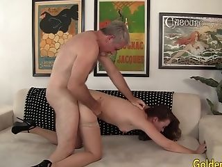 Granny Sable Renae Fucked With Fat Hard-on