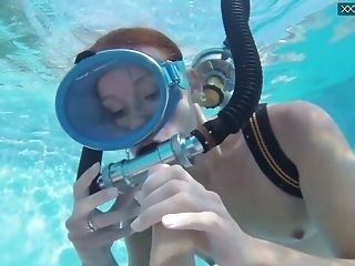 Check Out Hungarian Scuba Diver Minnie Manga Who Is Analfucked Underwater