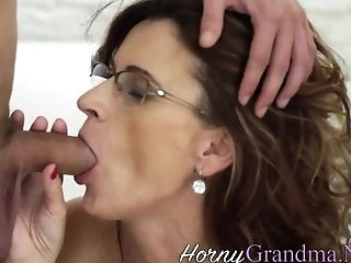 Granny In Glasses Creamed