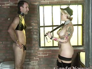 Smoking Hot Candy Monroe Gets Fucked With A Big Black Dick