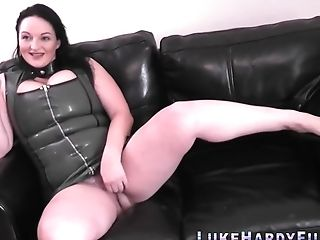 Chubby Brit Buttfucked