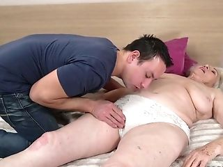 Mega Huge-titted Granny Norma Is Fucked By Hot Blooded Youthfull Student