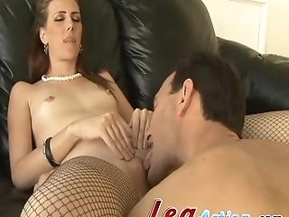 Miss Lady Wears Sexy Stockings While Being Fucked Xxx