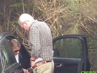 Grampa Caught With Escort Hidden Web Cam