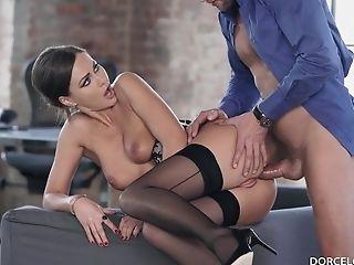 Tina Kay Hot Stunner Impassioned Fuck-fest Flick