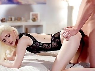 Blonde With Skinny Donk, Insane Home Lovemaking The Hard Way