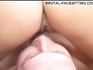 Hot Butt Honey Lovin' Her Smoothly-shaven Fuckbox Being Ate