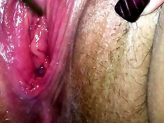 Creamy Cunt Gets Sounded