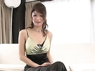 Slender Japanese Lady Runa Sezaki Ultimately Exposes Her Big Knockers