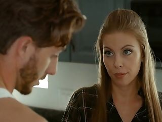 Zealous Svelte Gf Britney Amber Is Glad About Railing Her Stud On Top
