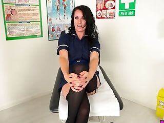 Spoiled All Alone Nurse Jasmine Lau Is Ready To Flash Her Big Vagina Lips