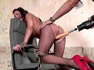 Huge-titted Woman Fucked With Phat Fucktoys In Super-naughty Domination & Submission Male Domination Xxx