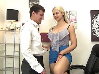 Sarah Vandella Has Her Exquisite Twat Fucked And Gets A Facial Cumshot