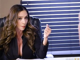 Amazing Office Affair With Stunning Mummy Ariella Ferrera