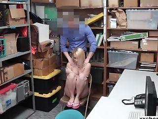 Shoplifter Teenage Carmen Callaway Gets Feed By Lps Bigcock