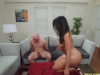 Remarkable Bomb Lela Starlet Likes Orgy With Her Hairless Paramour