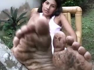 Asian Dirty Feet
