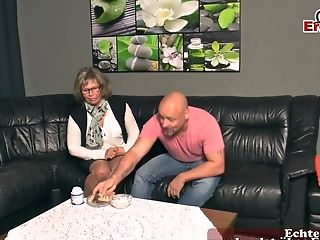 German Matures Mom Fucks With Saggy Tits
