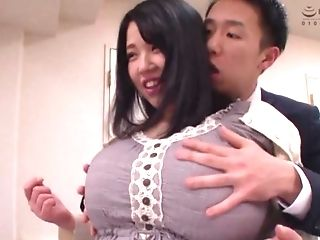 Bbw Big-chested Japanese Mummy Yuuki Iori Rails A Hard Hard-on Cowgirl Style