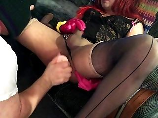 Dom Older Top Fucks Cd Cladia With A Anal Plug