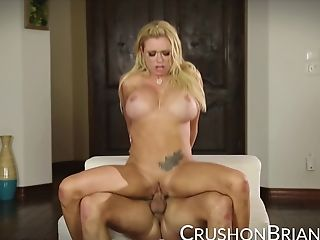 Crush Nymphs - Briana Banks Gets A Good Hard Fucking