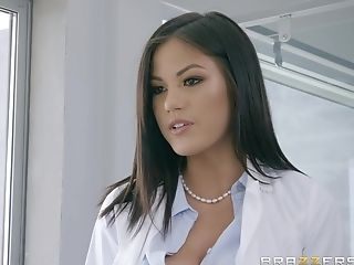 Asian Cougar Assistant Kendra Spade Gets Jizm On Face At An Office
