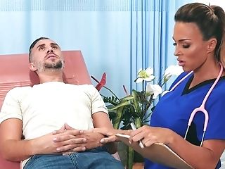 Aubrey Black Serious Xxx On The Dentist Stool