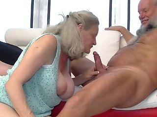 Hungarian Granny Aliz Sucking And Fucks