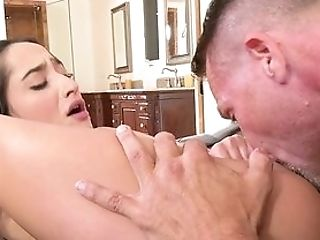 Erotic Oral Turns Into Decent Assfuck Once The Gal Gets Dirty